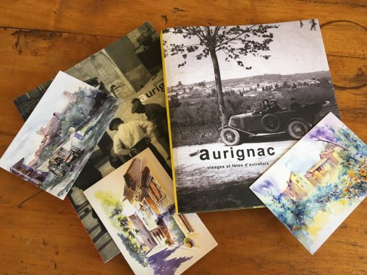 Books about the history of Aurignac