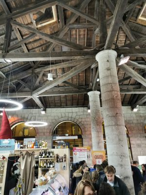 The gourmet covered market